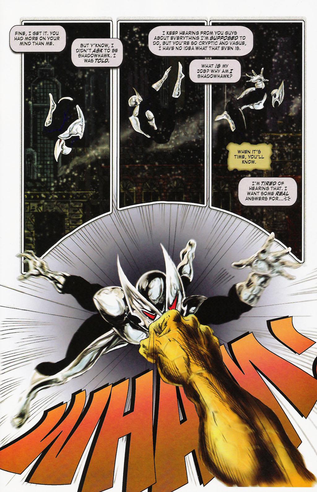 Read online ShadowHawk (2005) comic -  Issue #9 - 11