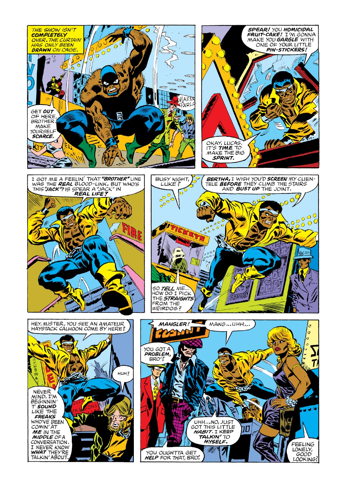 Read online Marvel Masterworks: Luke Cage, Power Man comic -  Issue # TPB 3 (Part 1) - 50