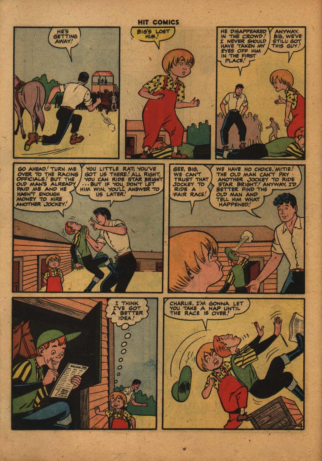 Read online Hit Comics comic -  Issue #47 - 23