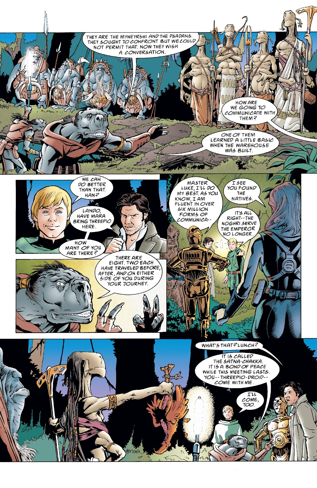 Read online Star Wars Legends: The New Republic - Epic Collection comic -  Issue # TPB 4 (Part 4) - 92