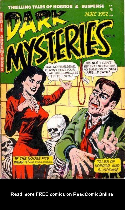 Dark Mysteries 6 Page 1
