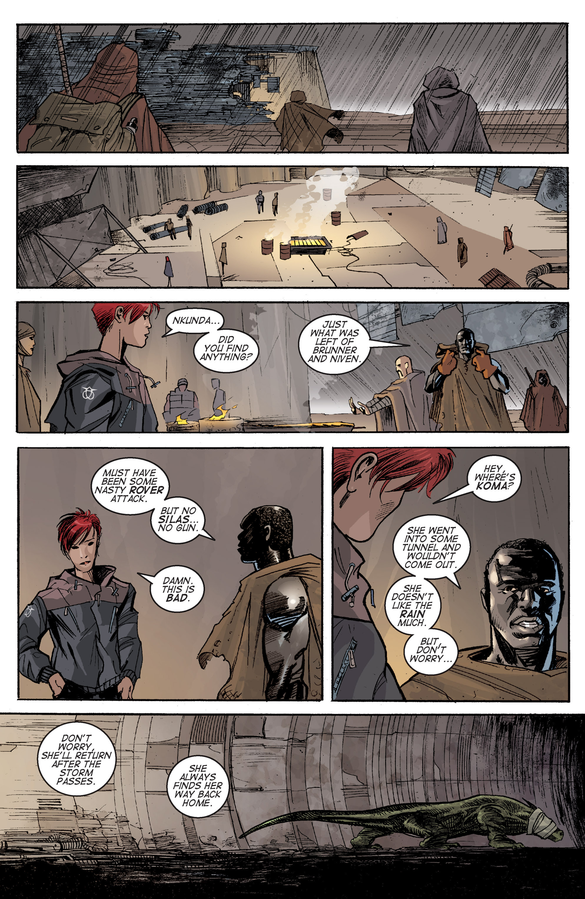 Read online Planetoid comic -  Issue # TPB - 122