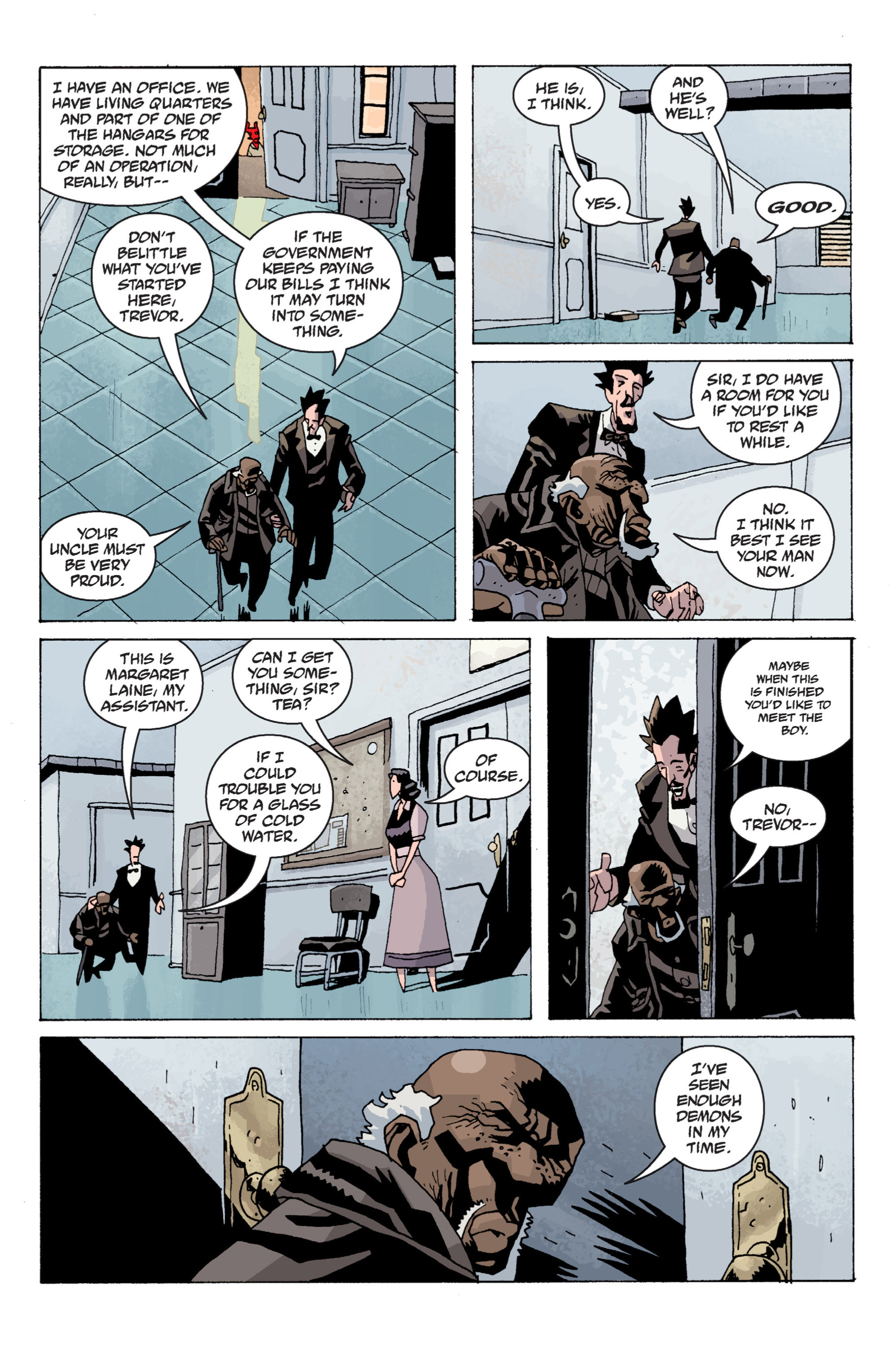 Read online B.P.R.D. (2003) comic -  Issue # TPB 13 - 115