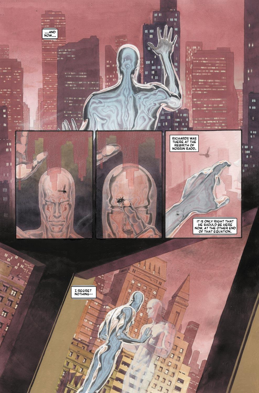 Read online Silver Surfer: Requiem comic -  Issue #1 - 19