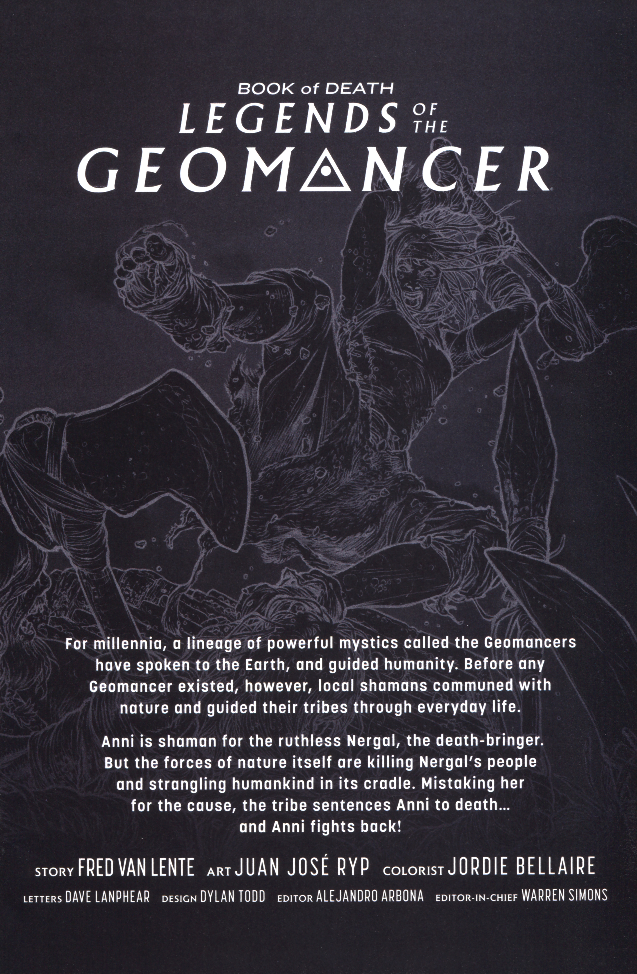 Read online Book of Death: Legends of the Geomancer comic -  Issue #2 - 3