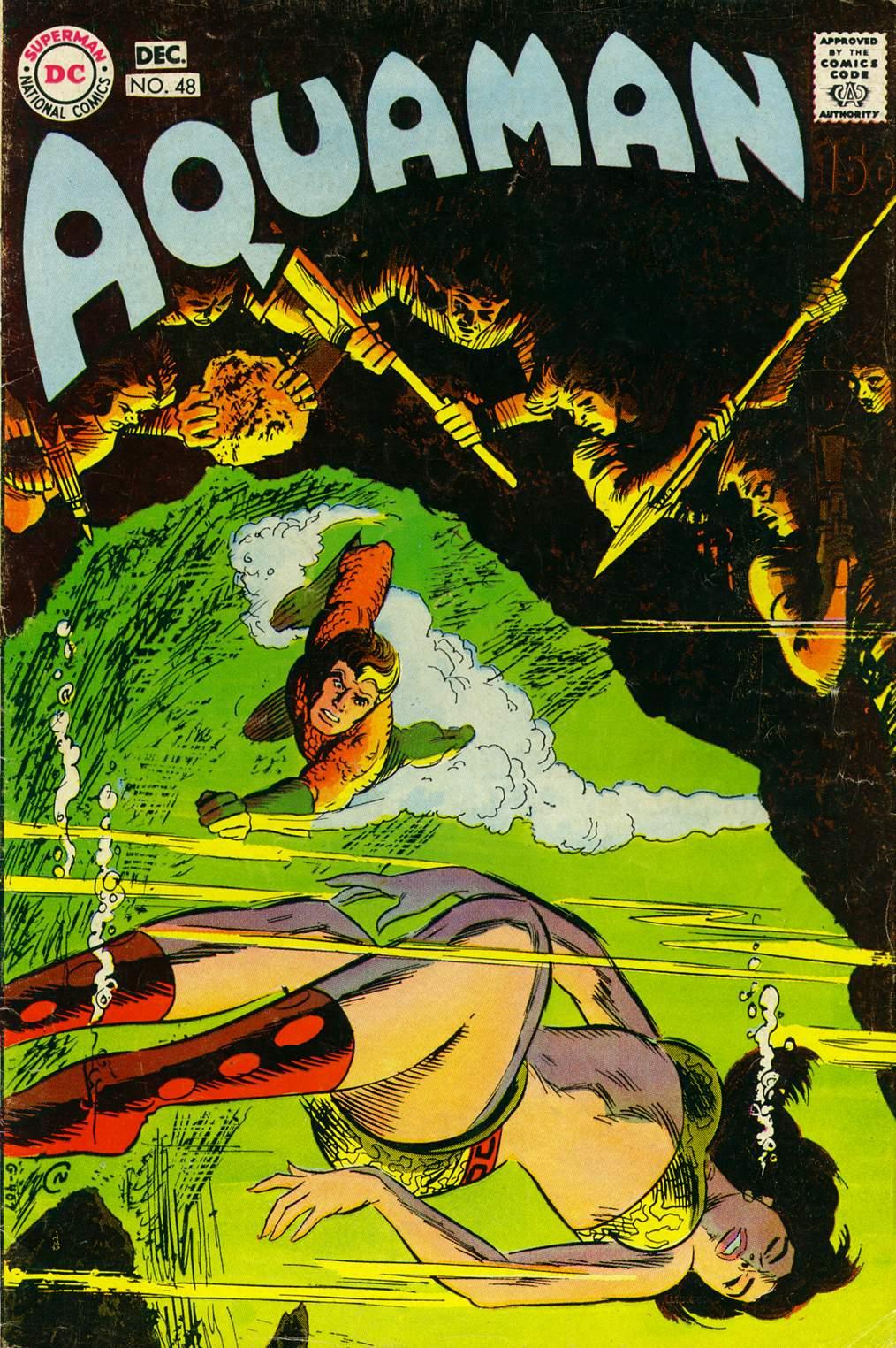 Read online Aquaman (1962) comic -  Issue #48 - 1