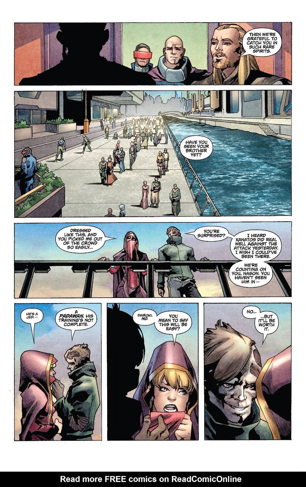 Read online Star Wars Legends: Rise of the Sith - Epic Collection comic -  Issue # TPB 1 (Part 2) - 13