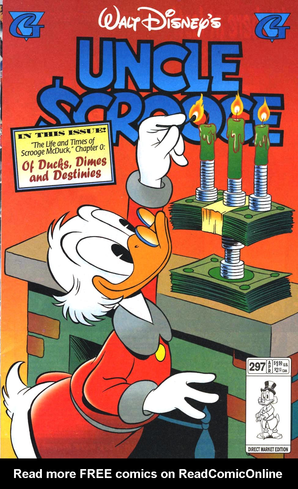 Read online Uncle Scrooge (1953) comic -  Issue #297 - 1