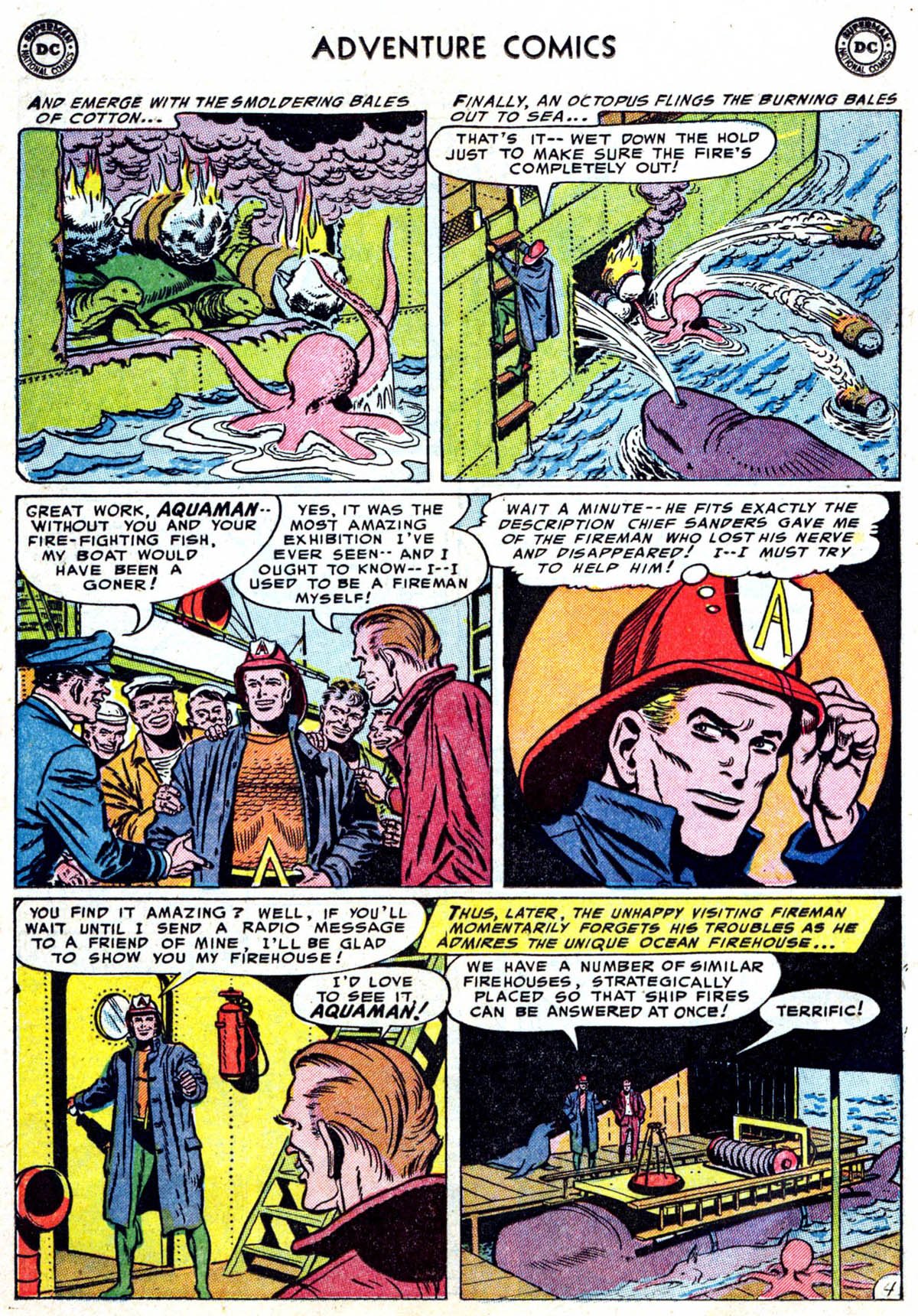 Read online Adventure Comics (1938) comic -  Issue #199 - 17