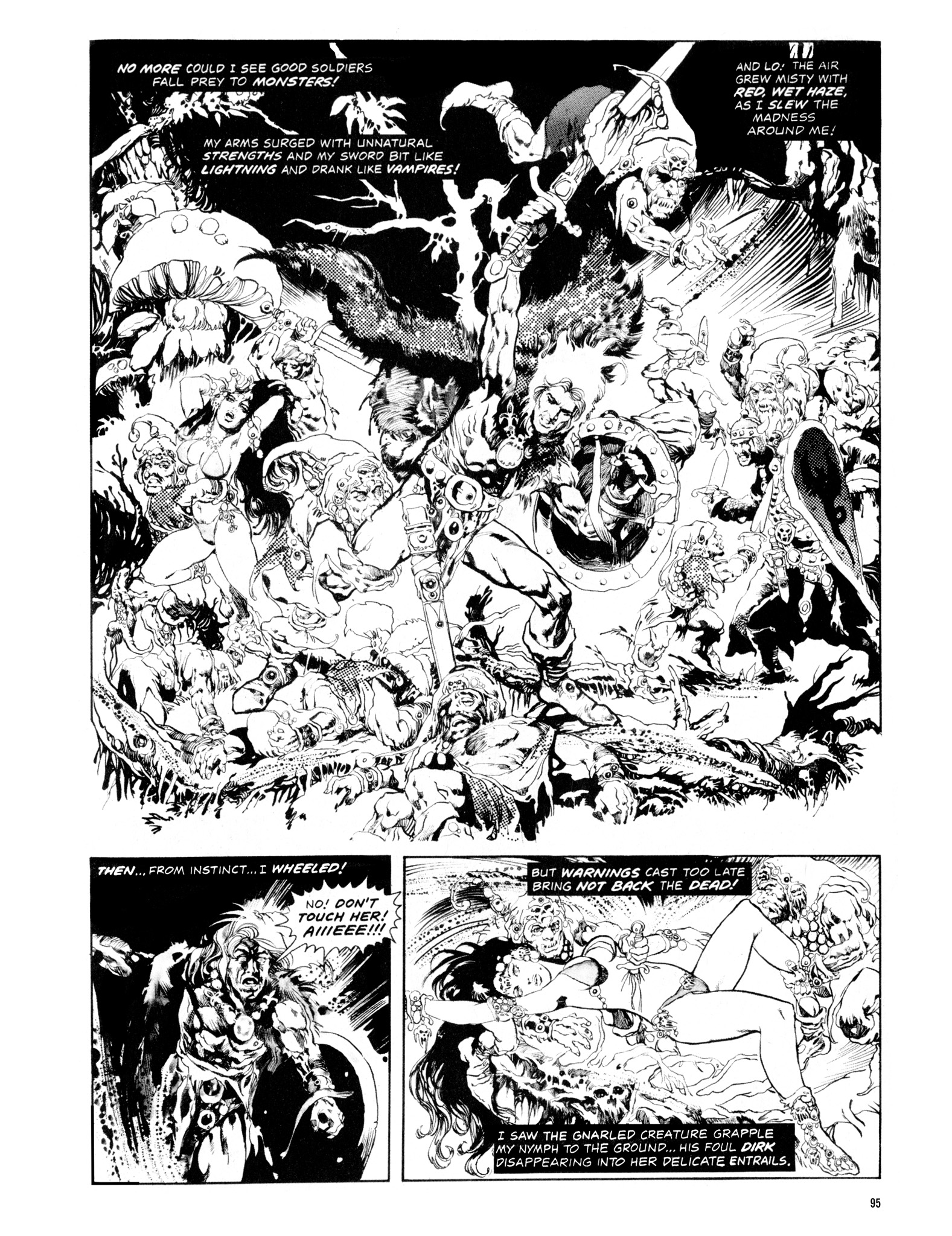 Read online Eerie Archives comic -  Issue # TPB 14 - 96