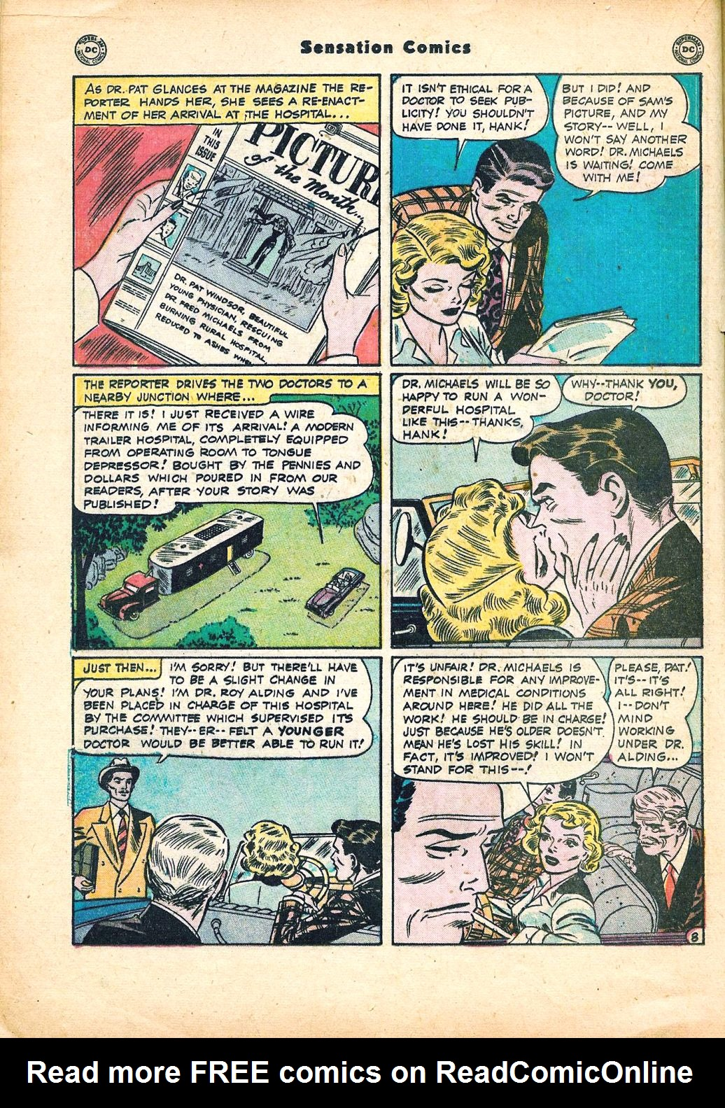 Read online Sensation (Mystery) Comics comic -  Issue #95 - 22