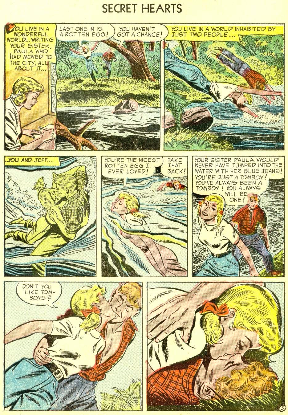 Read online Secret Hearts comic -  Issue #21 - 29
