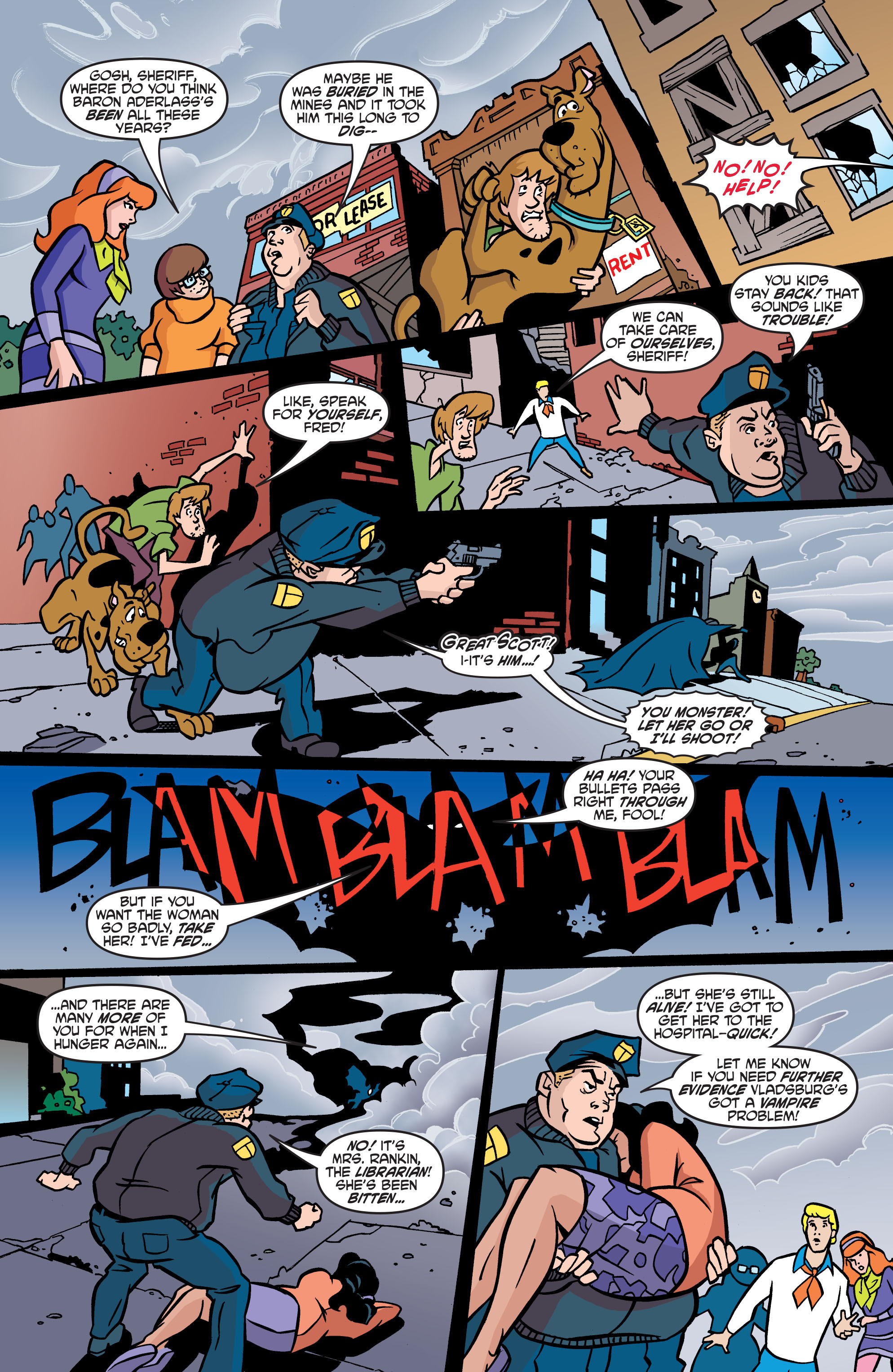 Read online Scooby-Doo: Where Are You? comic -  Issue #57 - 16