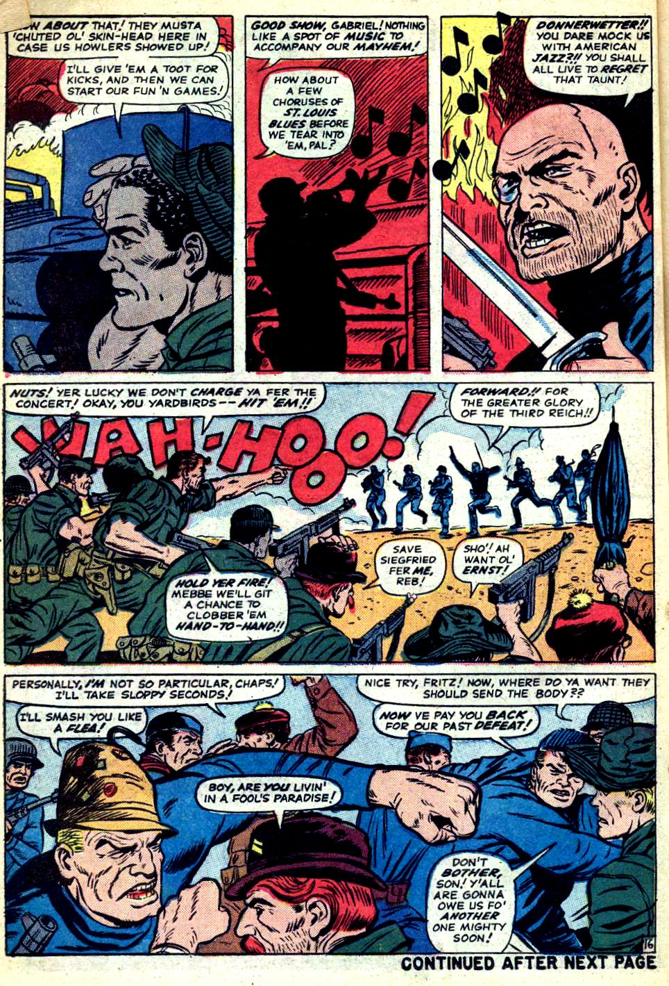 Read online Sgt. Fury comic -  Issue #22 - 22