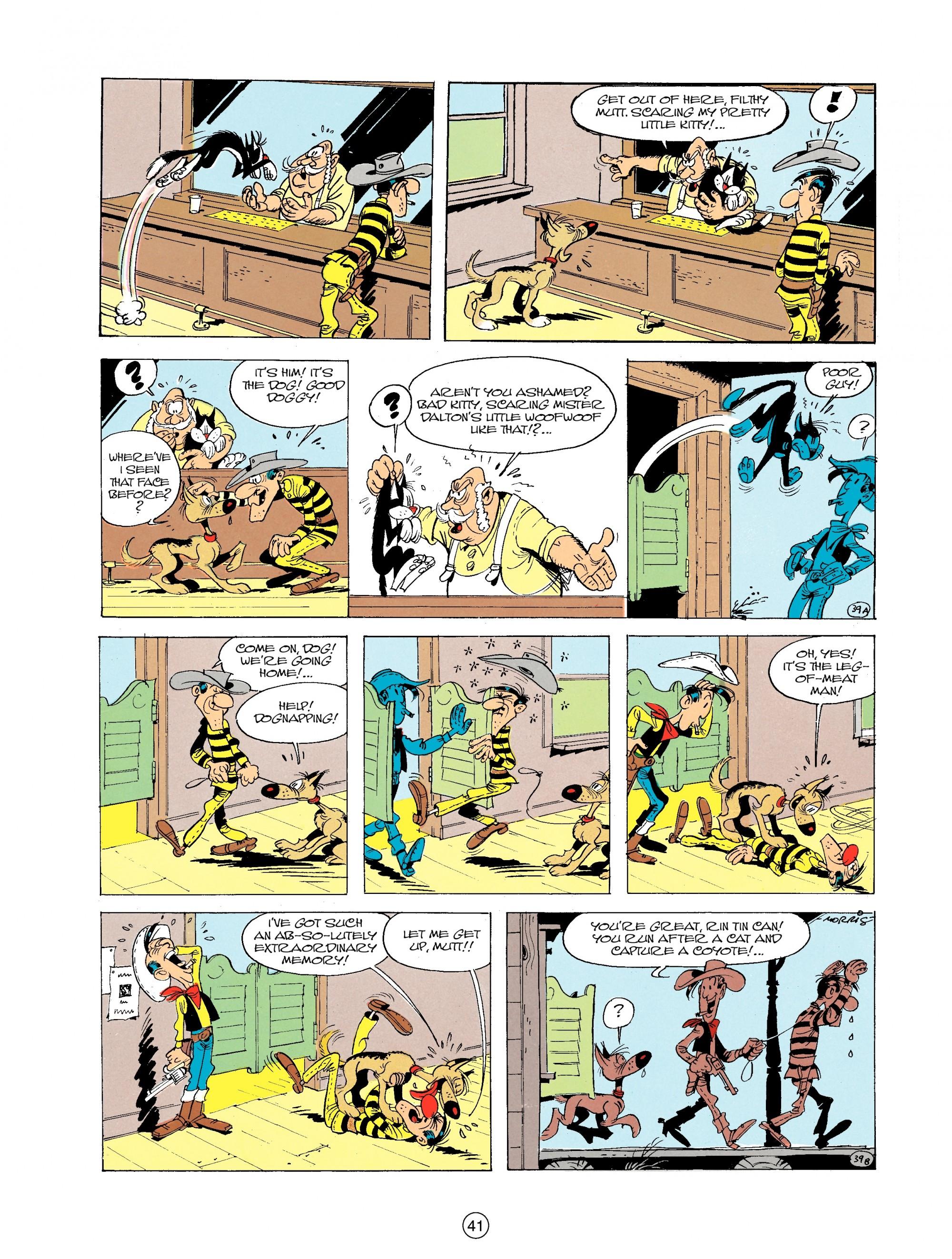 Read online A Lucky Luke Adventure comic -  Issue #19 - 41