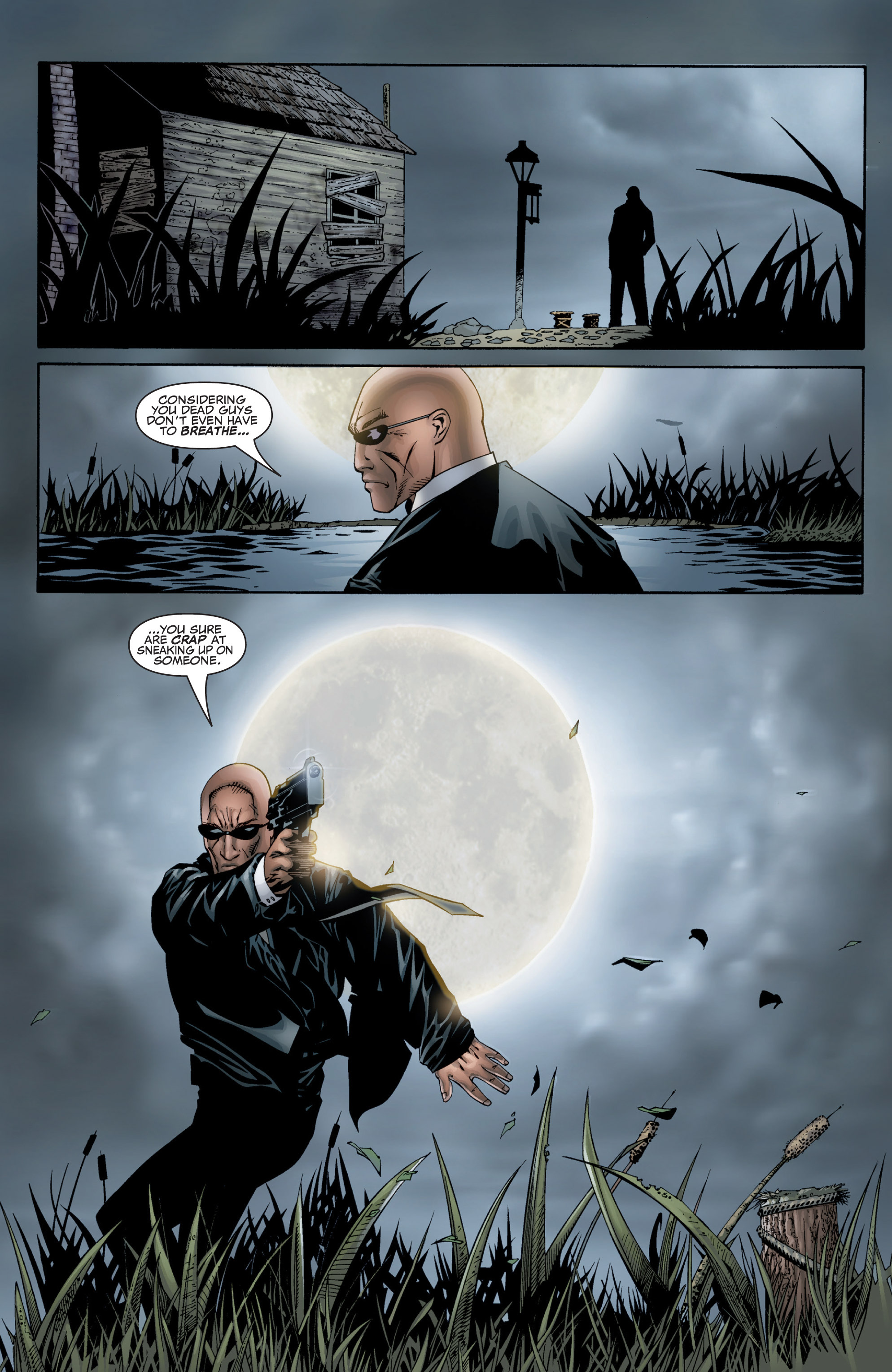 Read online Shadowman (1999) comic -  Issue #1 - 5