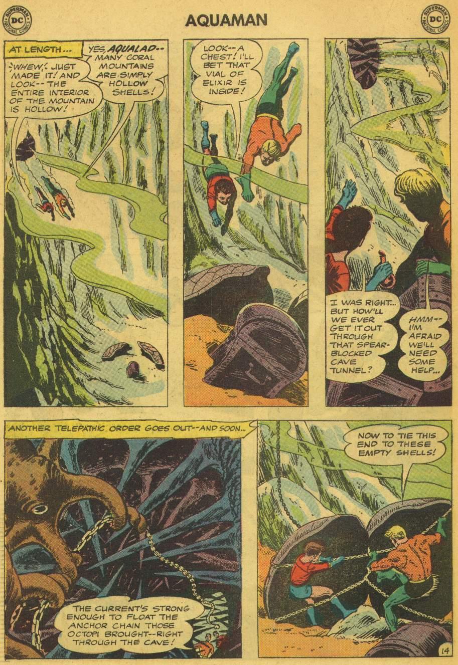 Read online Aquaman (1962) comic -  Issue #5 - 18