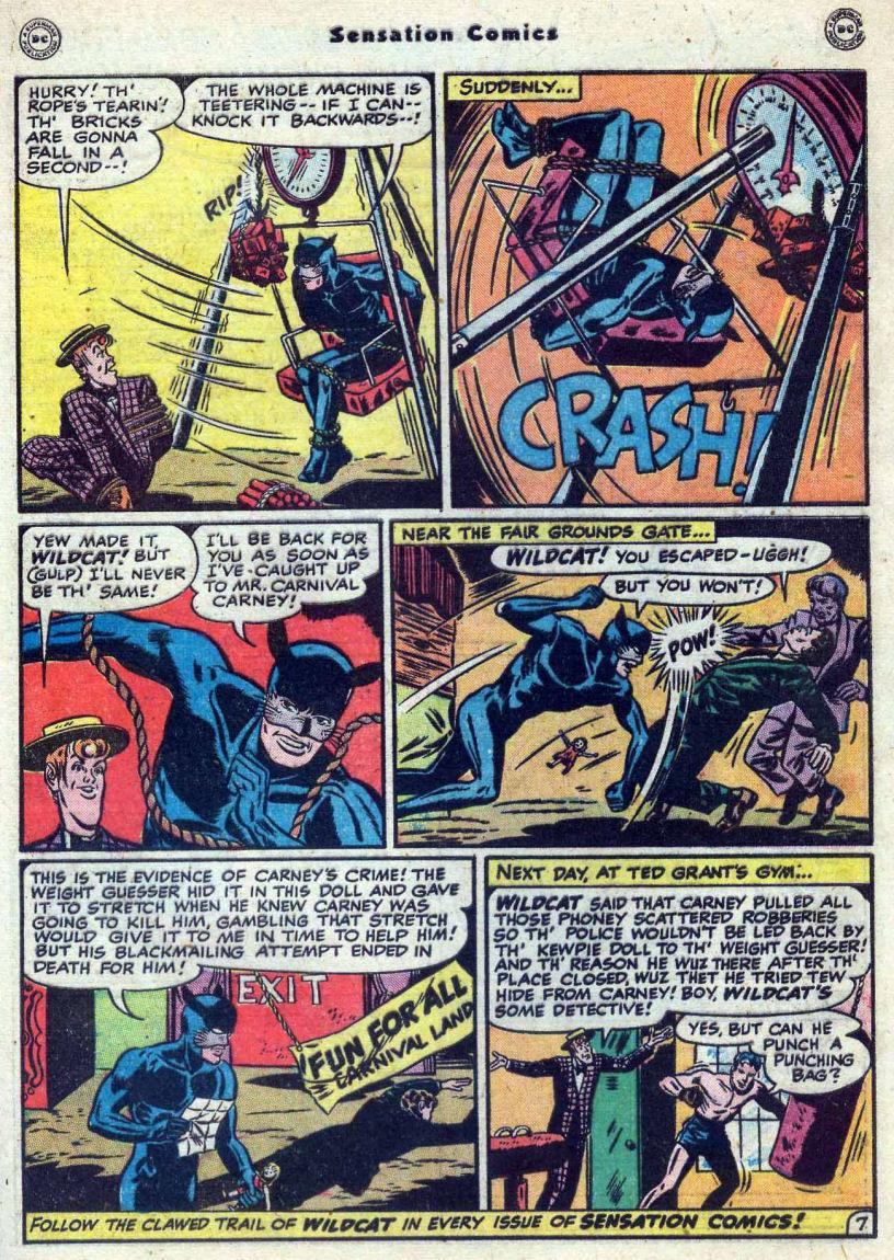 Read online Sensation (Mystery) Comics comic -  Issue #82 - 49