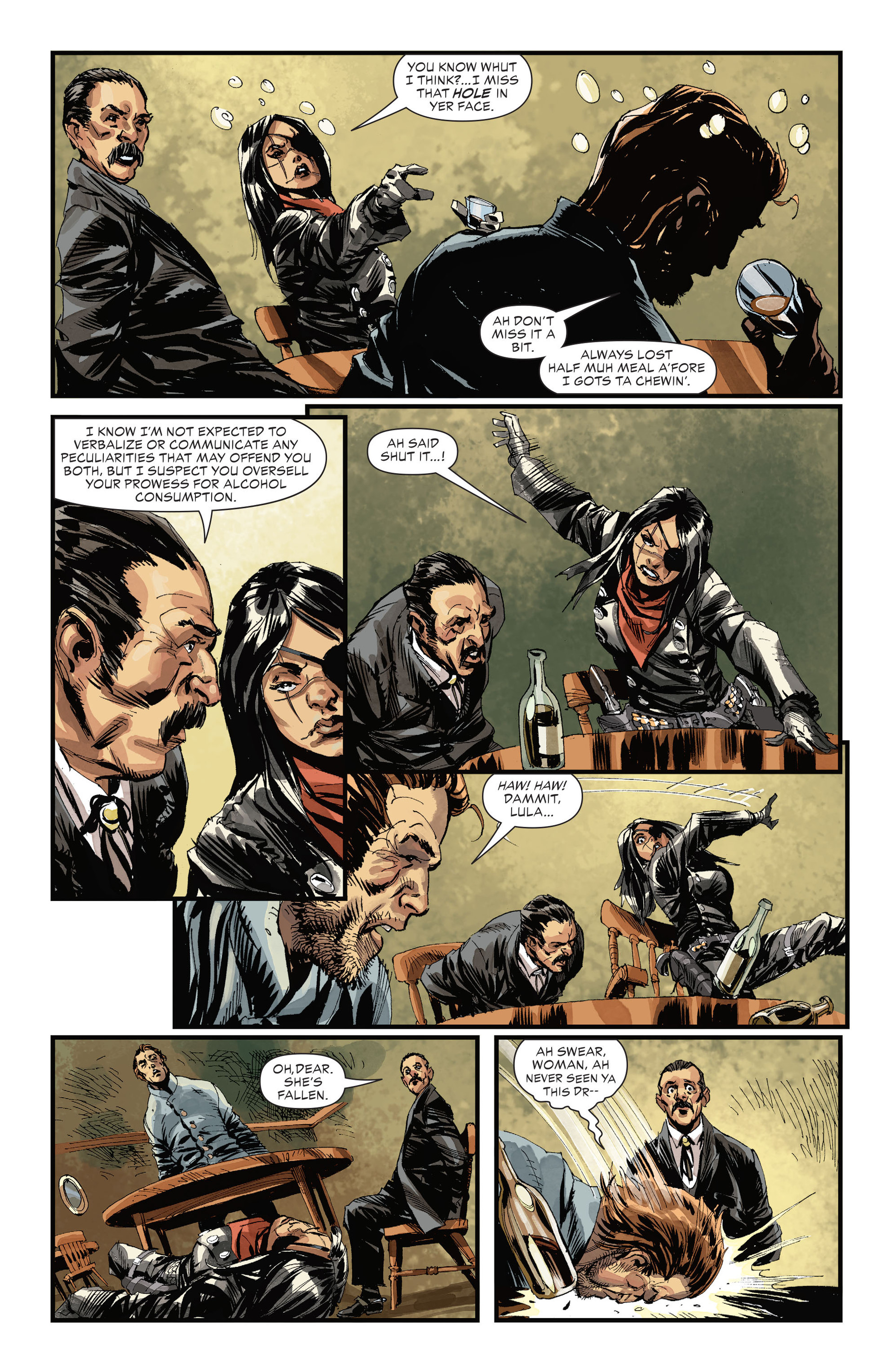 Read online All-Star Western (2011) comic -  Issue #32 - 11