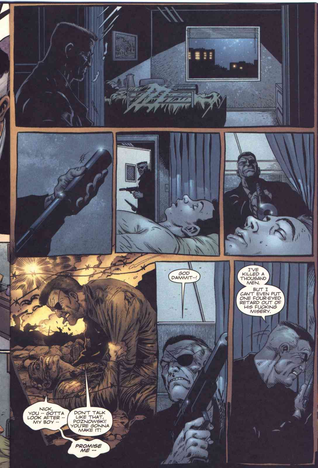 Read online Fury comic -  Issue #1 - 16