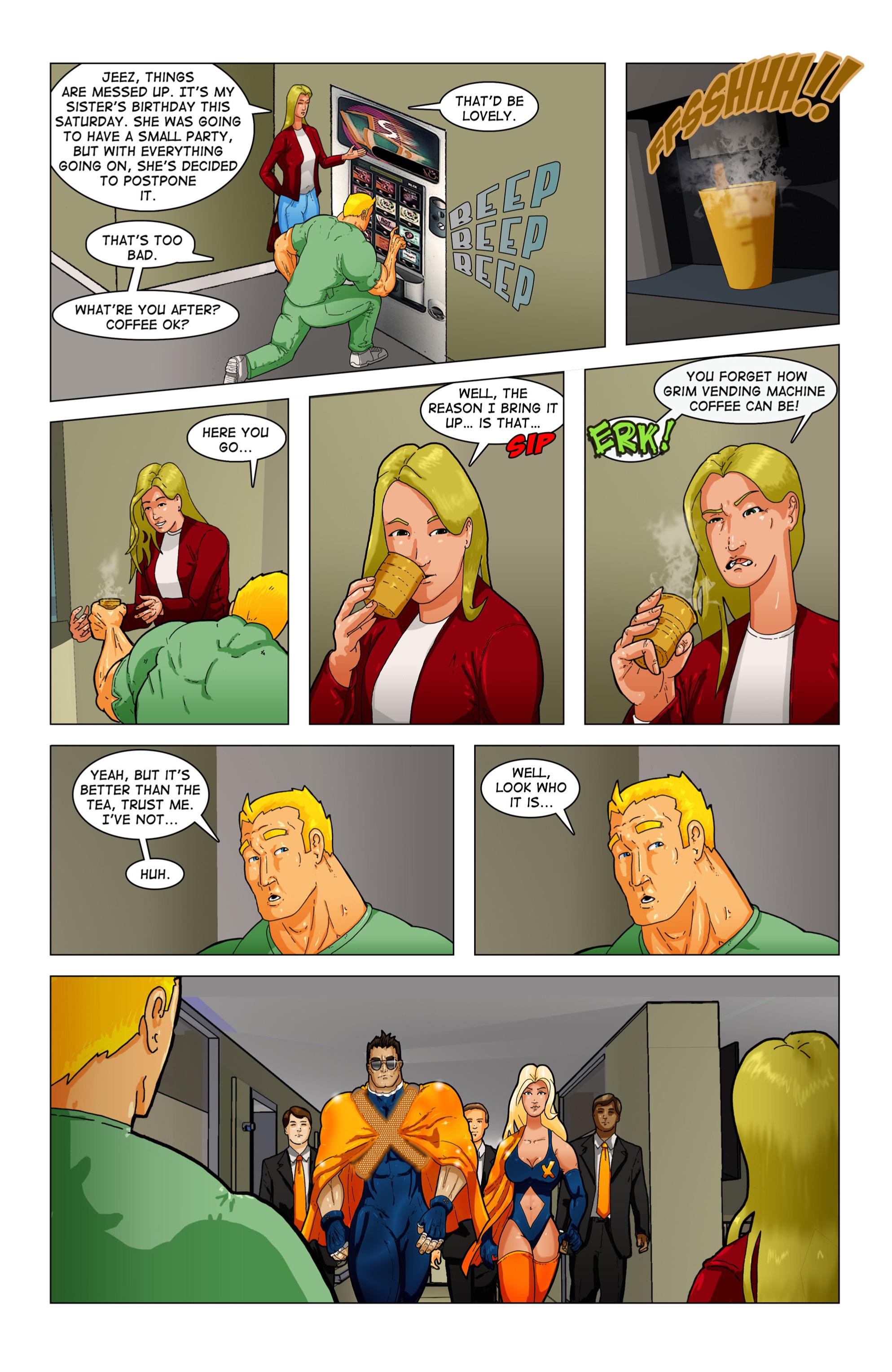 Read online Vanguard (2015) comic -  Issue #3 - 14