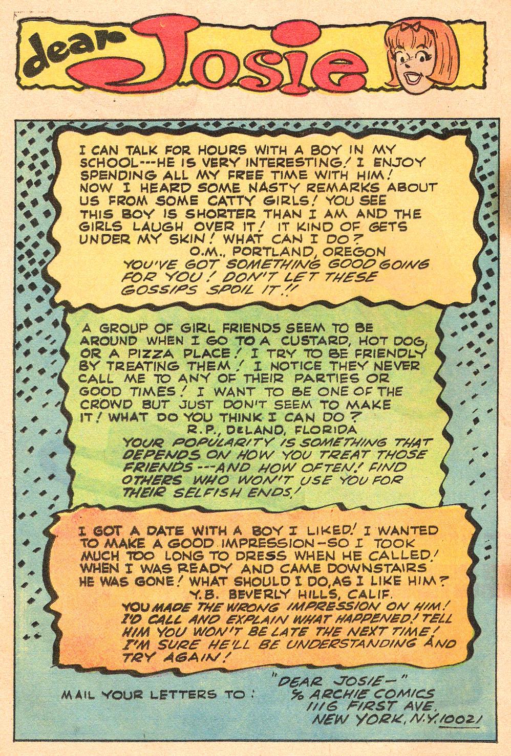 Read online She's Josie comic -  Issue #45 - 19