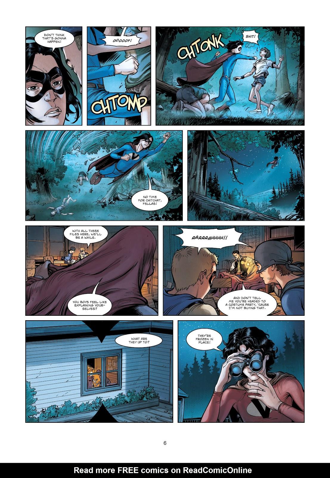 Read online Vigilantes comic -  Issue #3 - 6