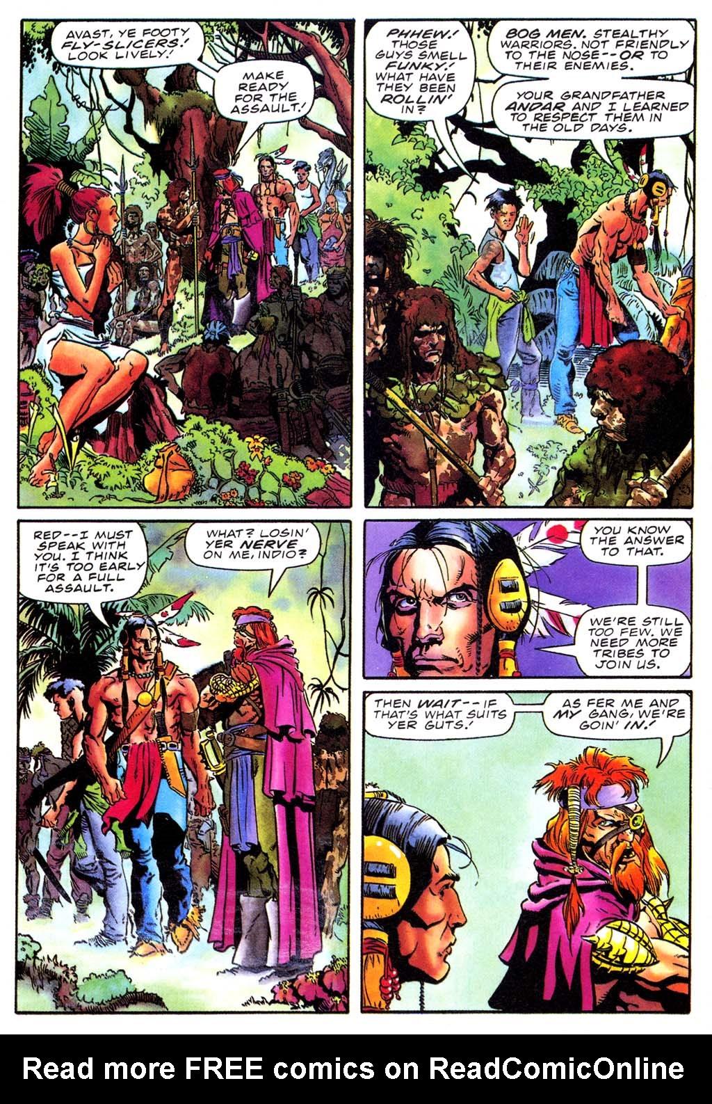 Read online Turok, Dinosaur Hunter (1993) comic -  Issue #27 - 5
