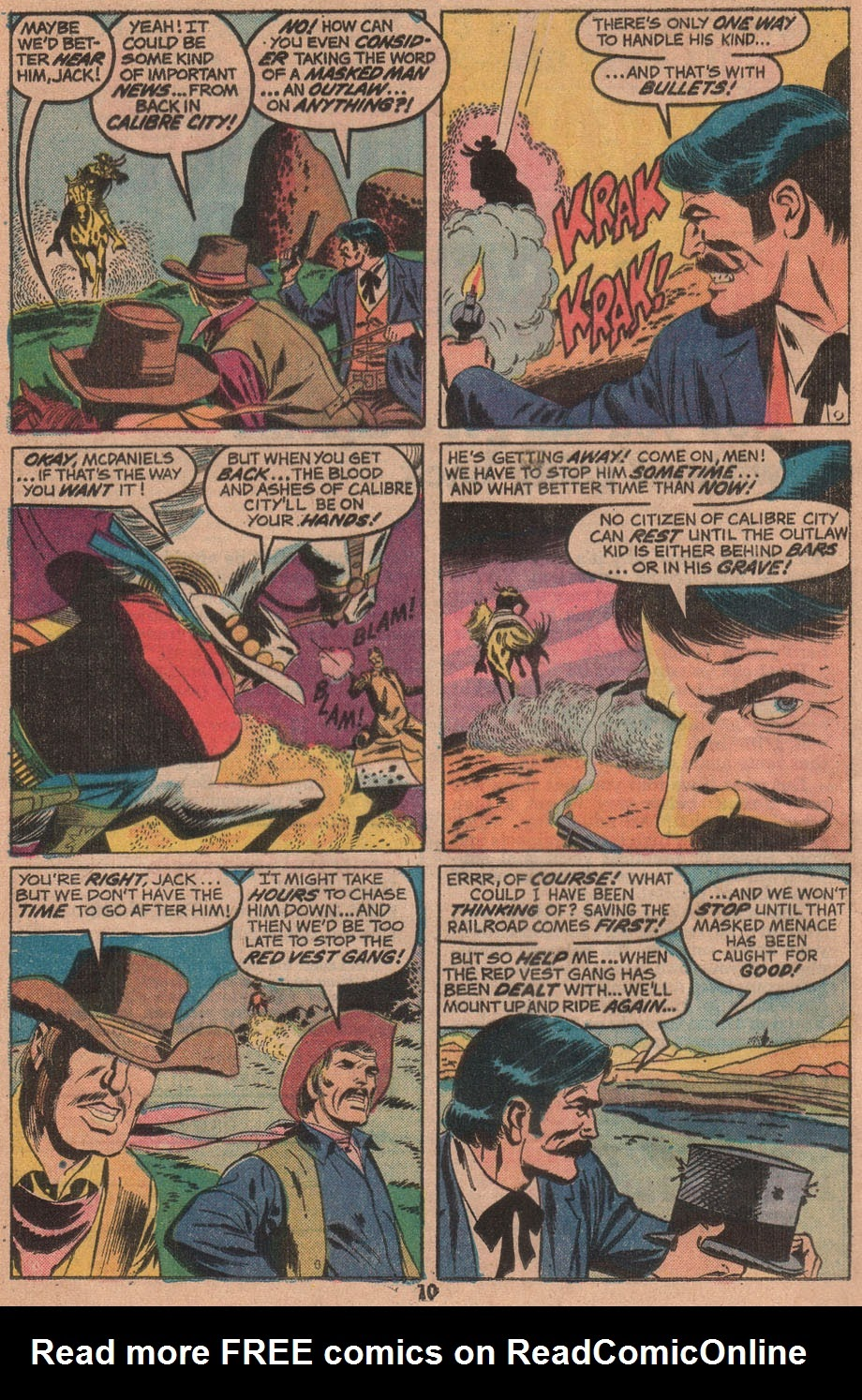 The Outlaw Kid (1970) issue 14 - Page 12