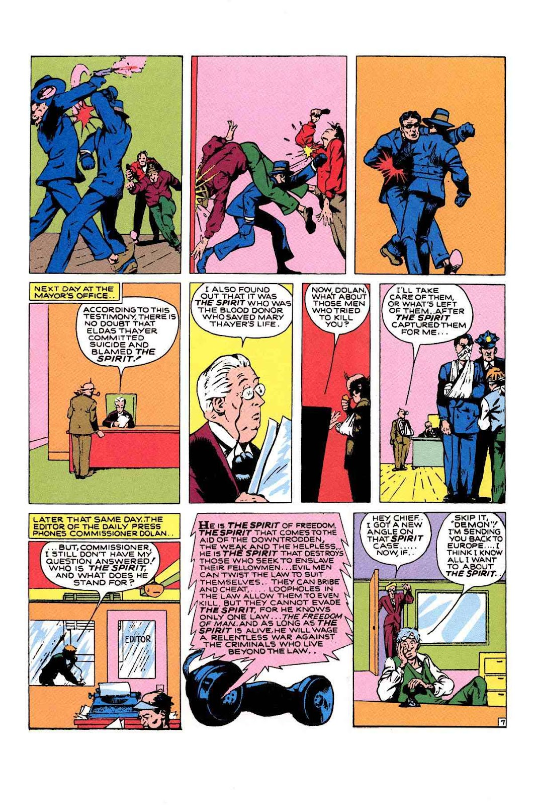 Read online Will Eisner's The Spirit Archives comic -  Issue # TPB 1 (Part 2) - 41