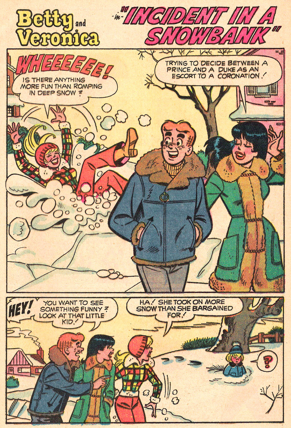 Read online Archie's Girls Betty and Veronica comic -  Issue #208 - 21