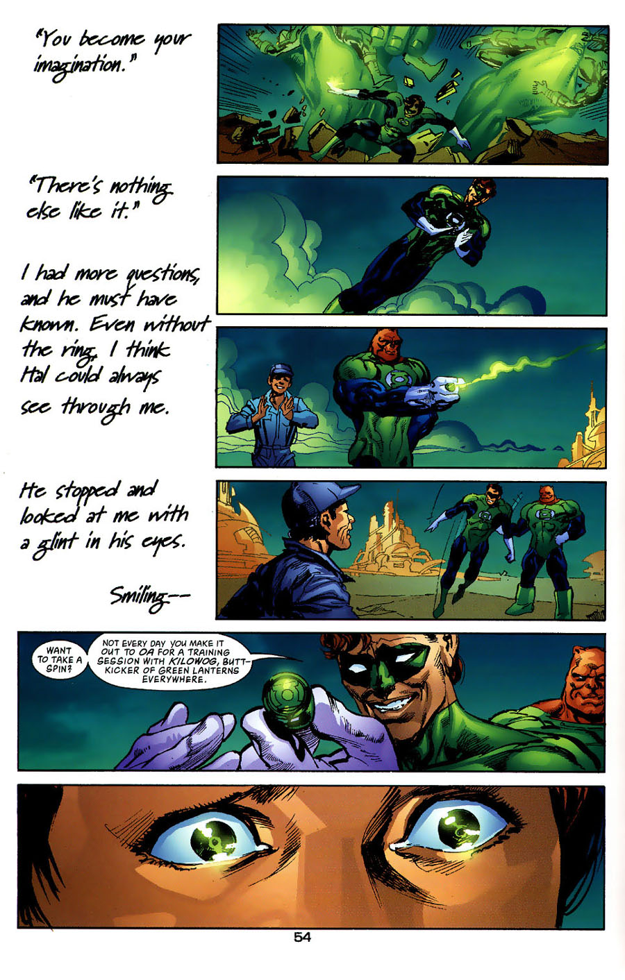 Read online Green Lantern: Legacy: The Last Will and Testament of Hal Jordan comic -  Issue # TPB - 59