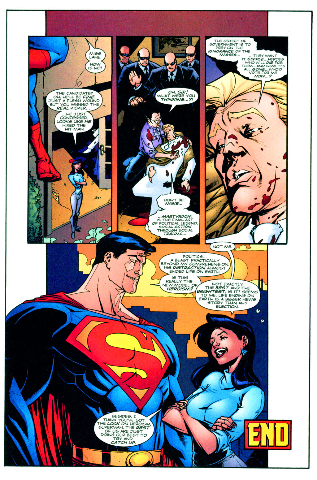 Read online Adventures of Superman (1987) comic -  Issue #620 - 22