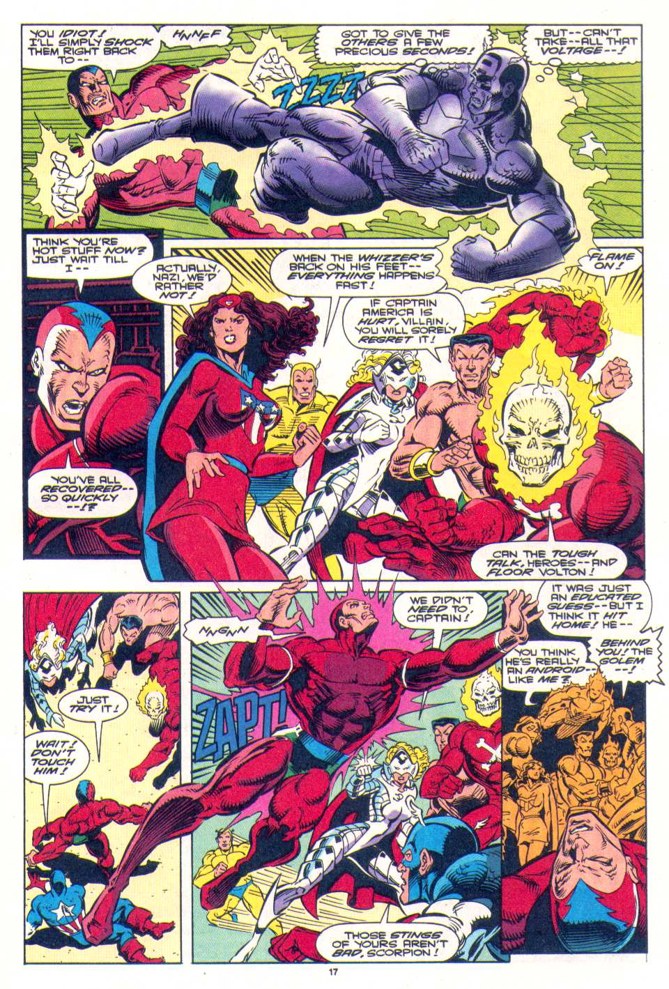 Read online The Invaders (1993) comic -  Issue #4 - 15
