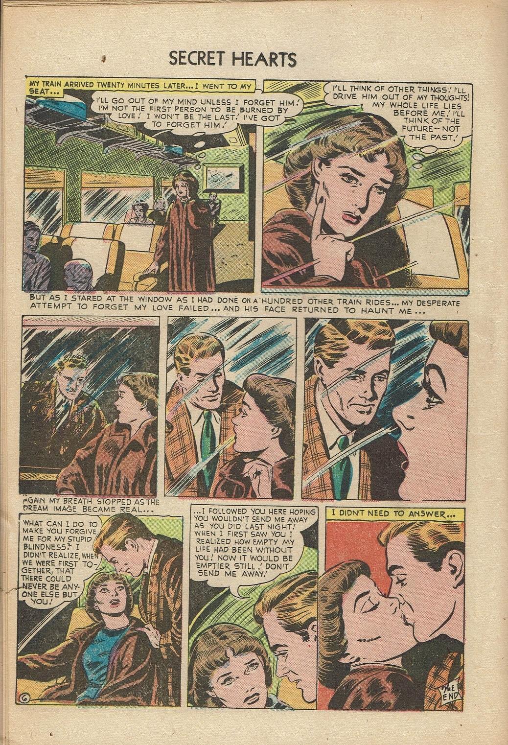 Read online Secret Hearts comic -  Issue #14 - 16