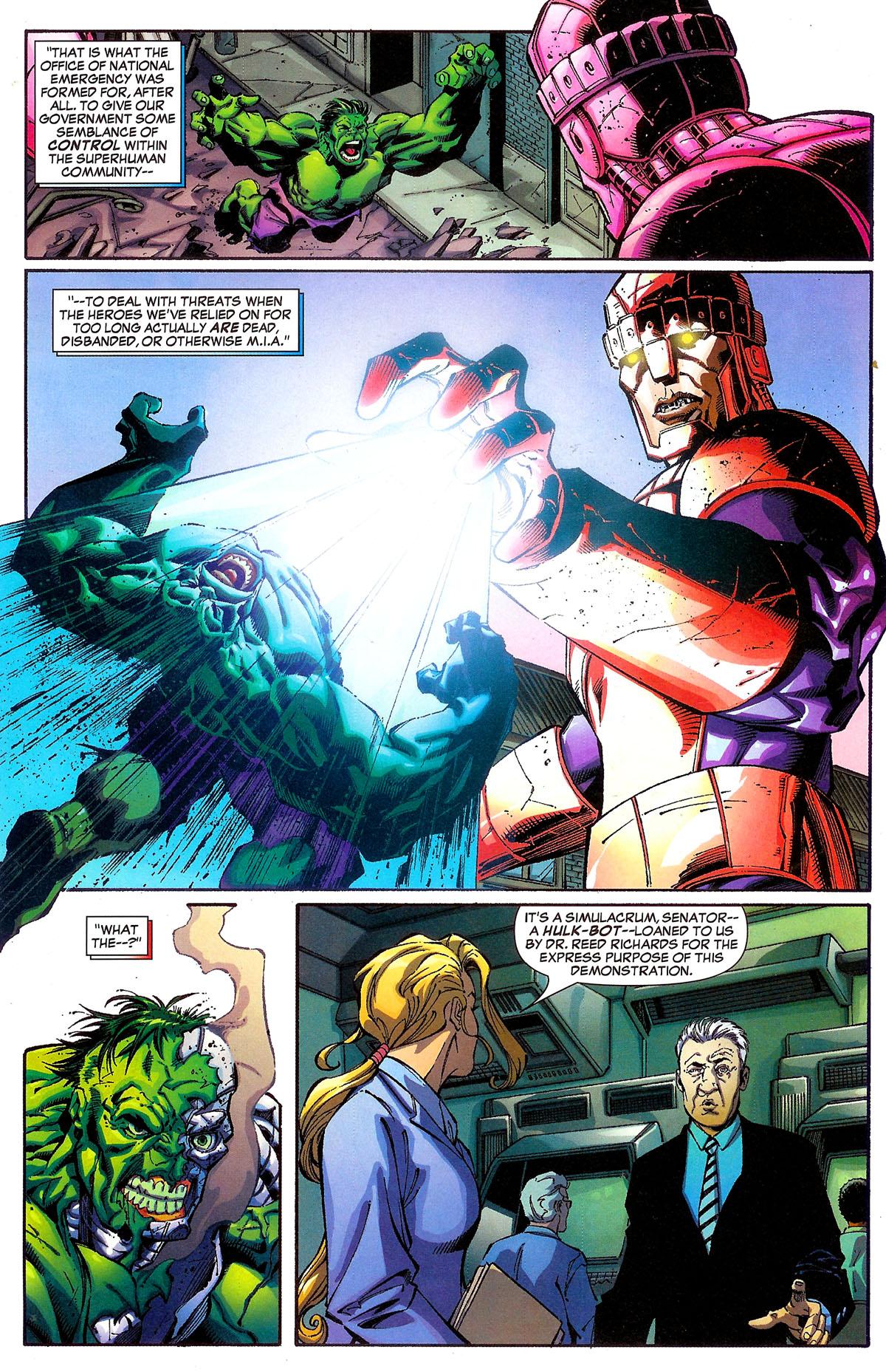 Read online Sentinel Squad O*N*E comic -  Issue #1 - 4