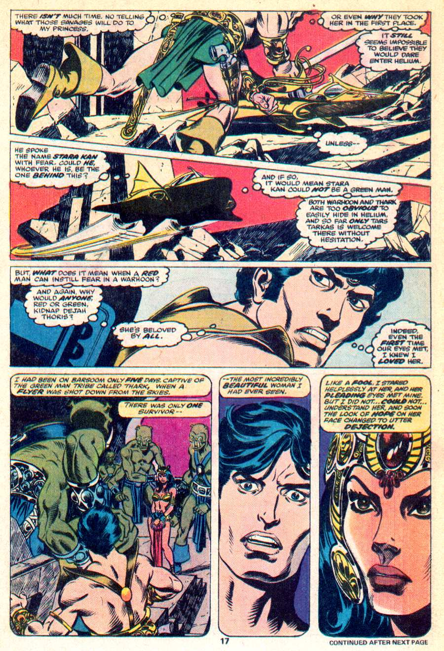 John Carter Warlord of Mars issue 1 - Page 12