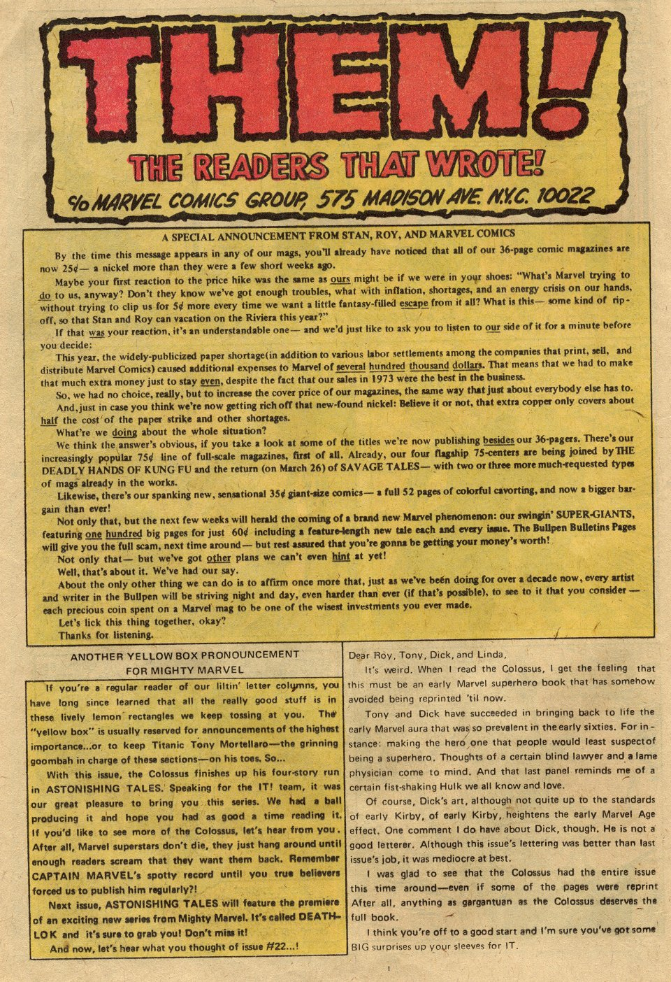 Read online Astonishing Tales (1970) comic -  Issue #24 - 12