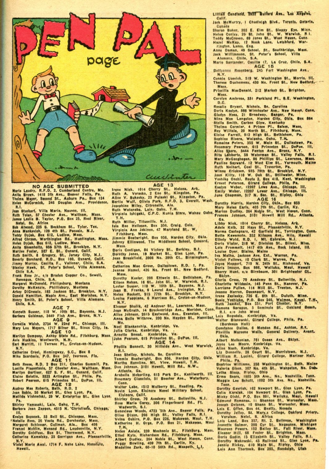 Read online Famous Funnies comic -  Issue #108 - 17