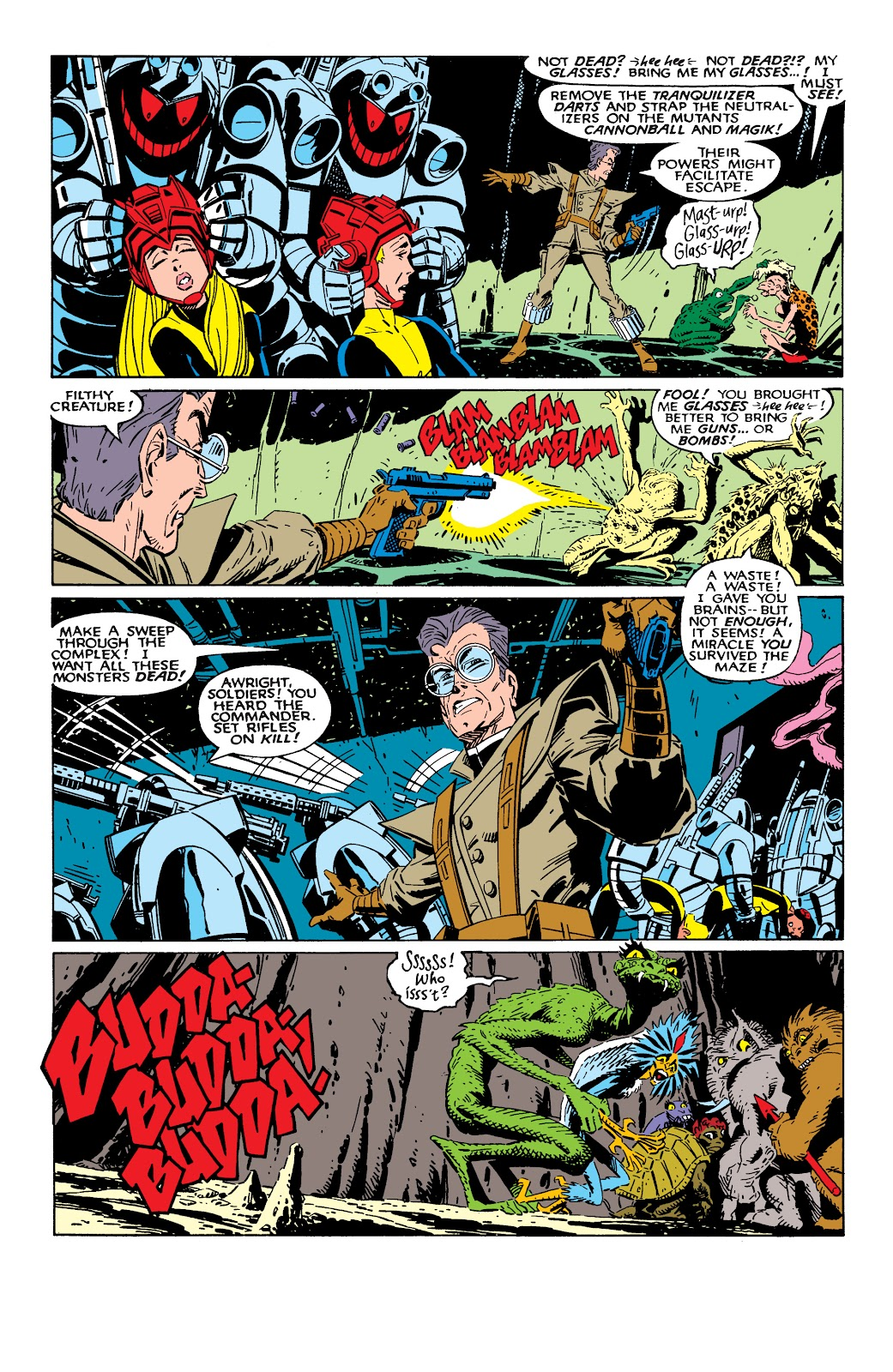 Read online X-Men Milestones: Fall of the Mutants comic -  Issue # TPB (Part 2) - 41