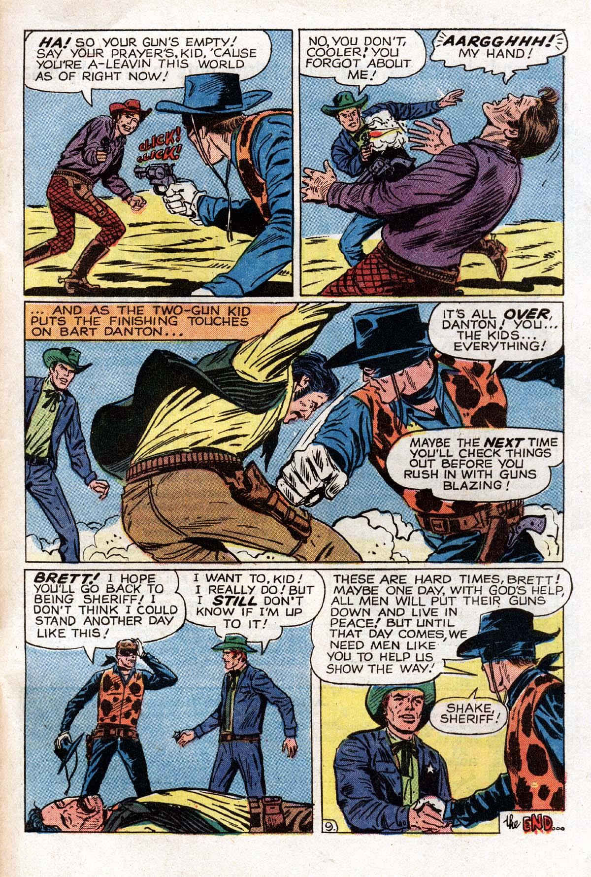 Read online Two-Gun Kid comic -  Issue #104 - 33