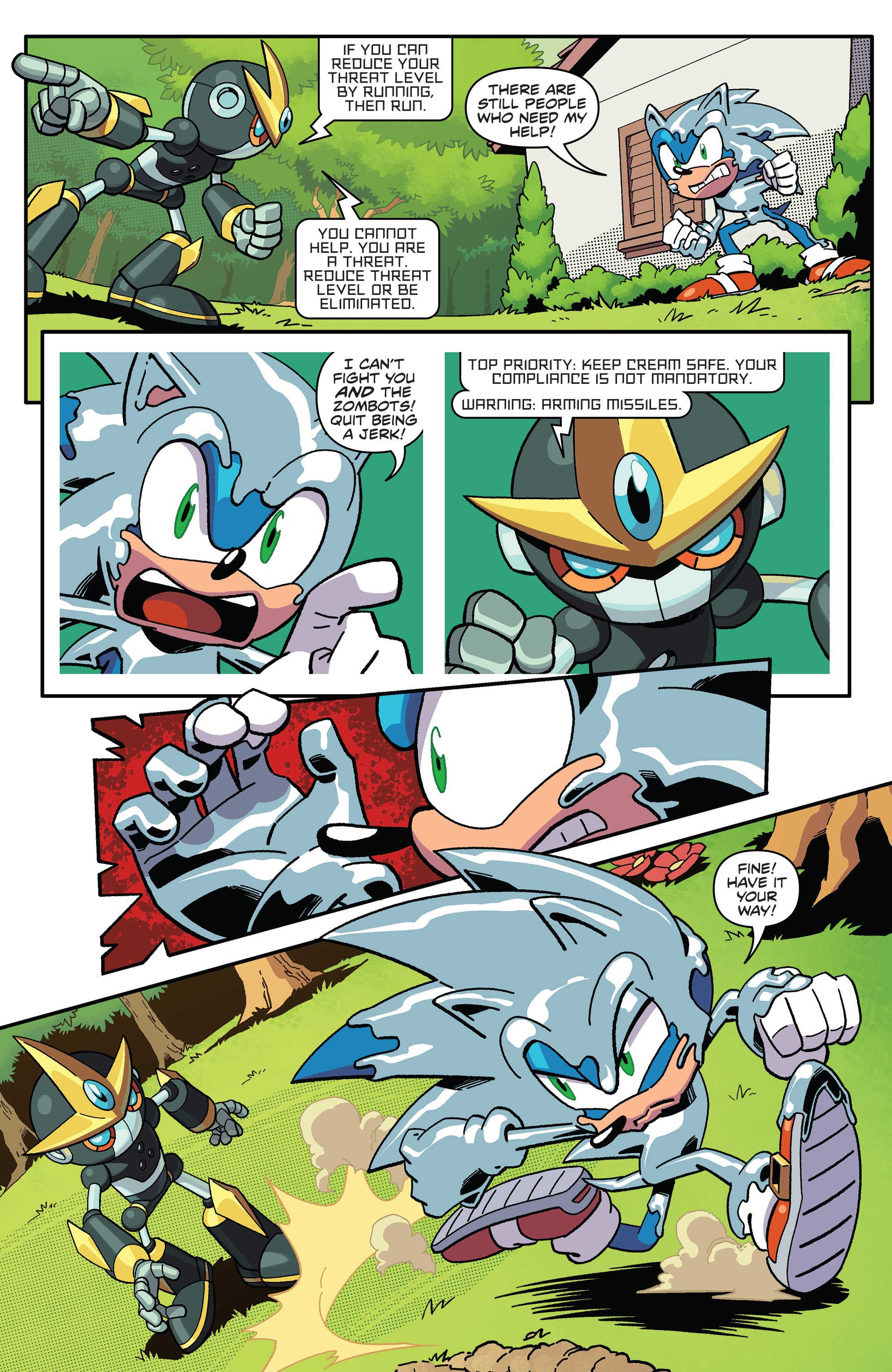 Read Online Sonic The Hedgehog 2018 Comic Issue 18