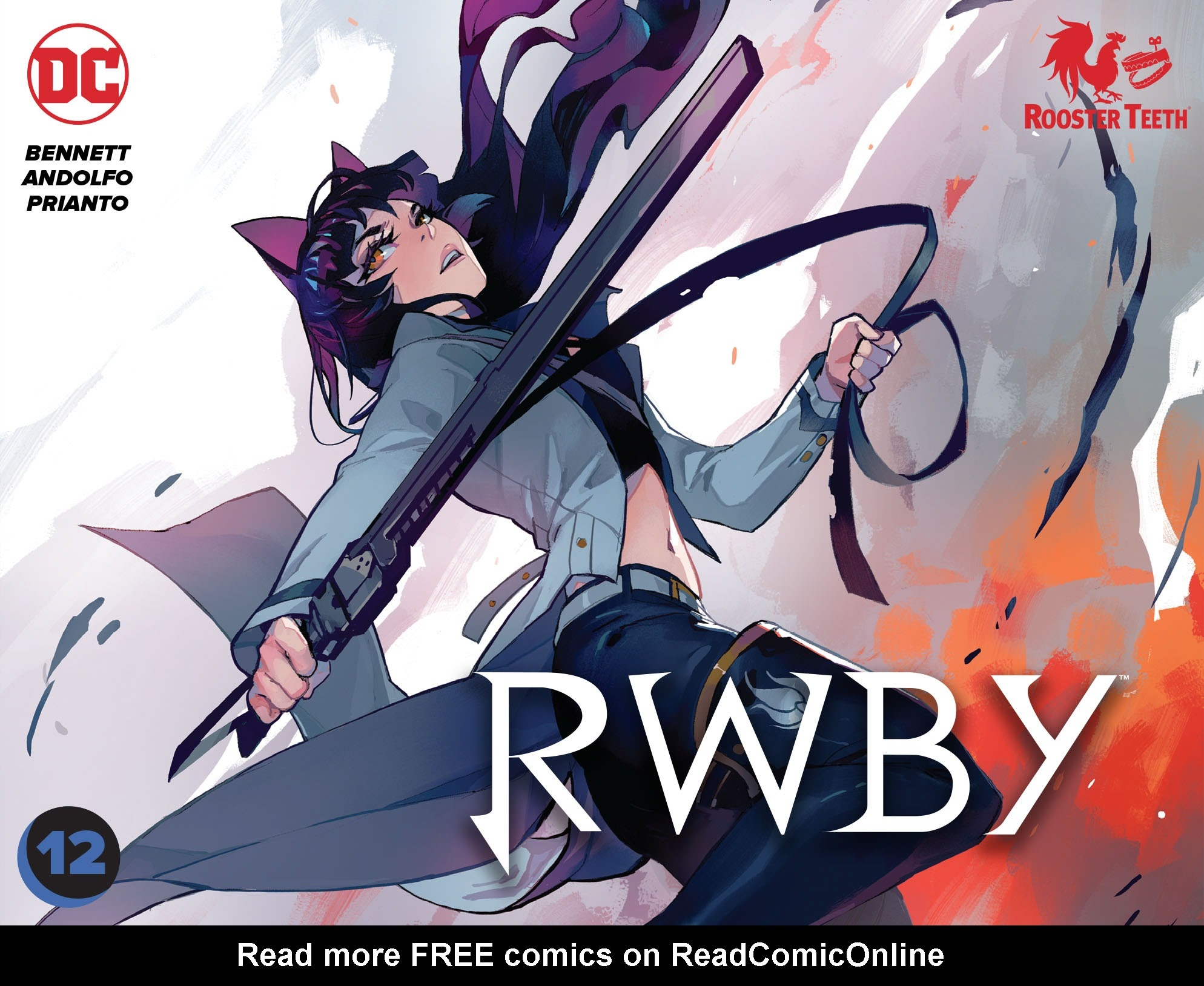 RWBY issue 12 - Page 1
