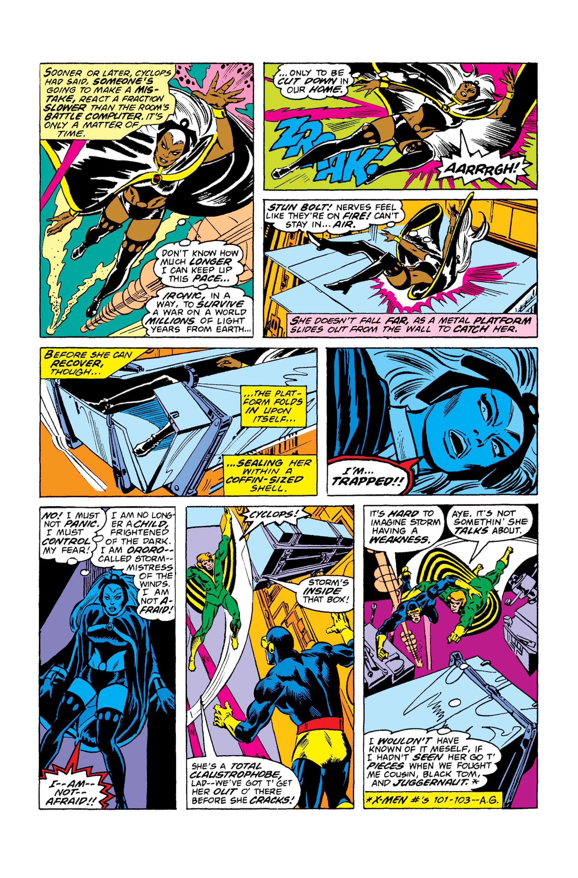 Read online Uncanny X-Men (1963) comic -  Issue #110 - 12