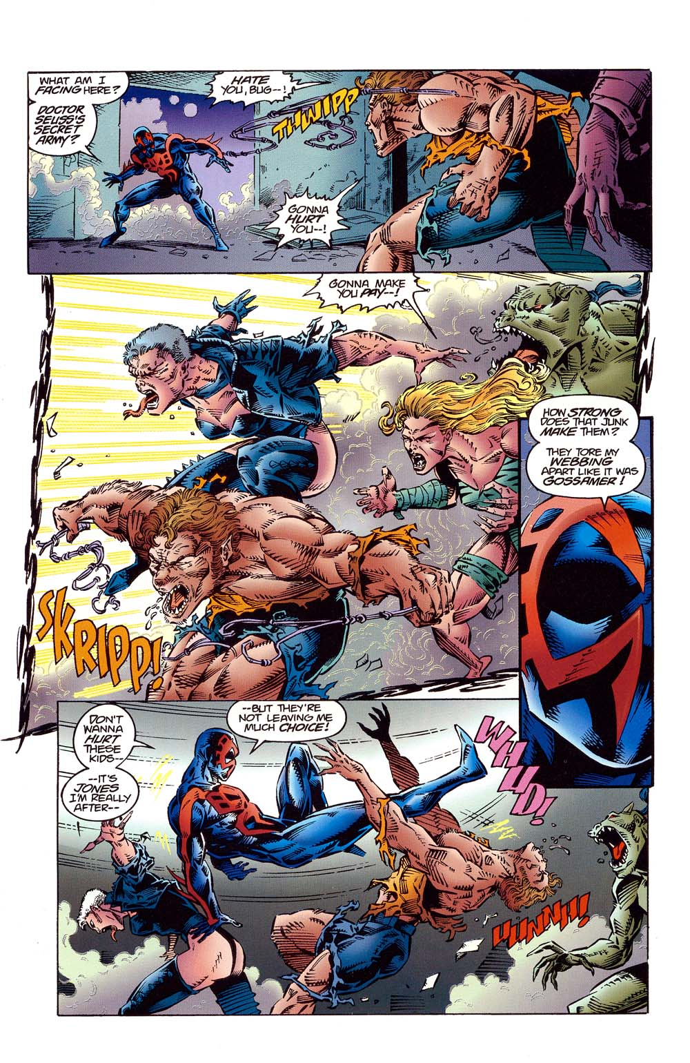 Read online 2099 Unlimited comic -  Issue #10 - 19