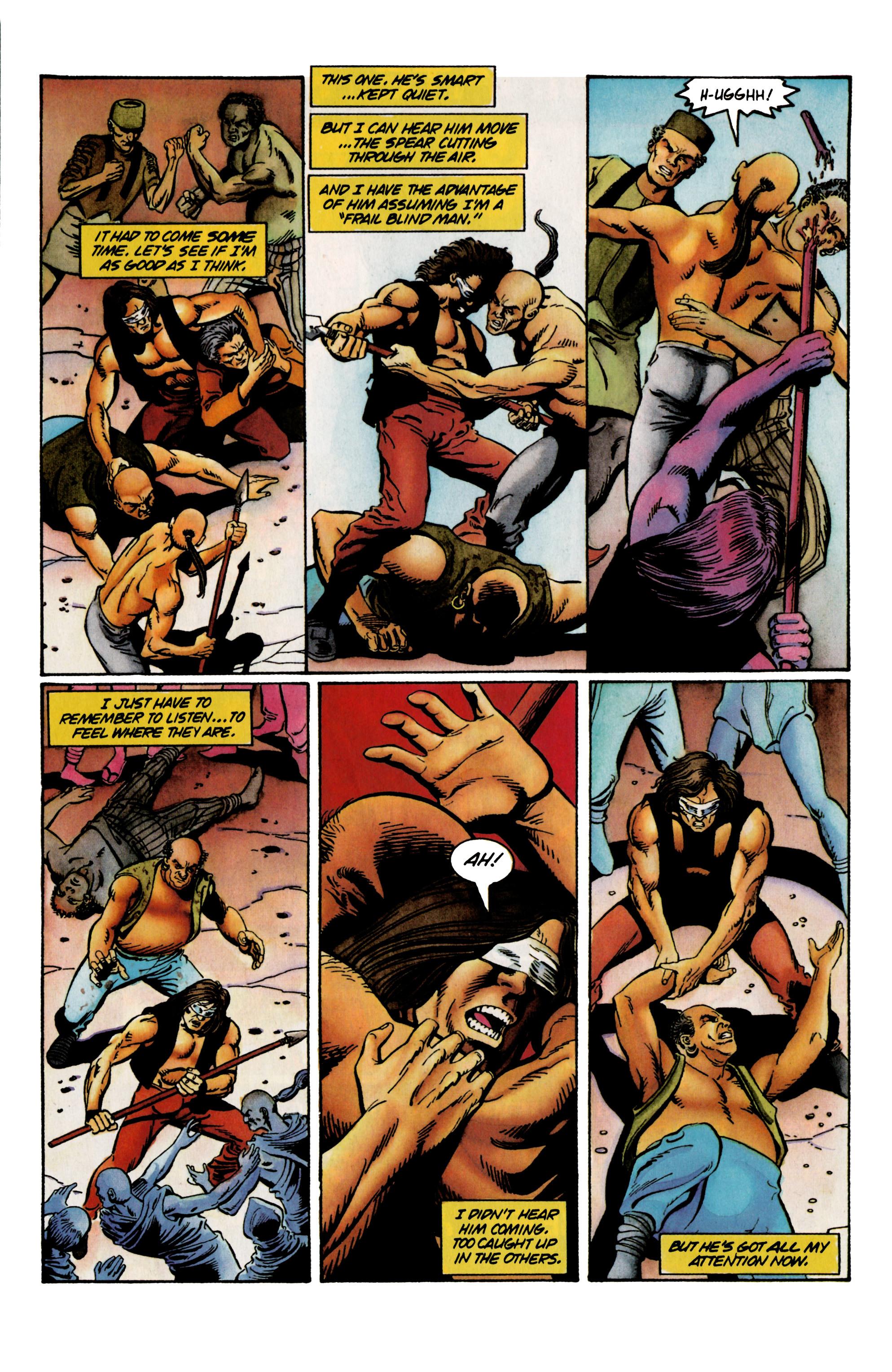 Read online Eternal Warrior (1992) comic -  Issue #23 - 17