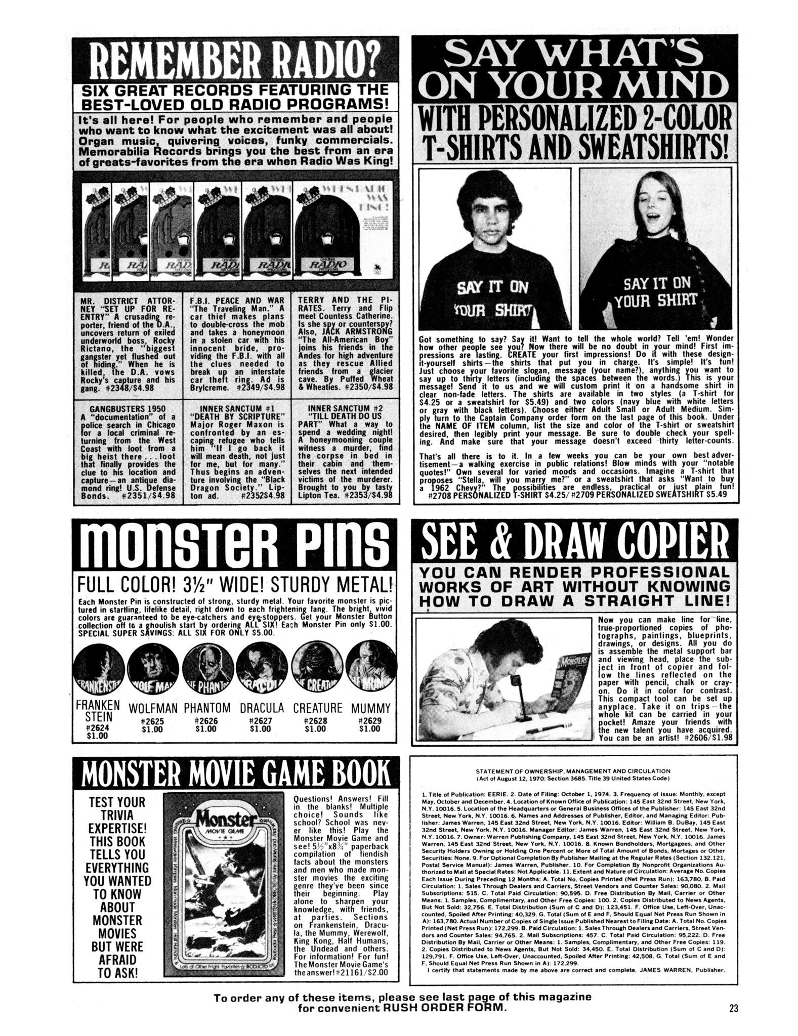 Read online Eerie Archives comic -  Issue # TPB 14 - 24