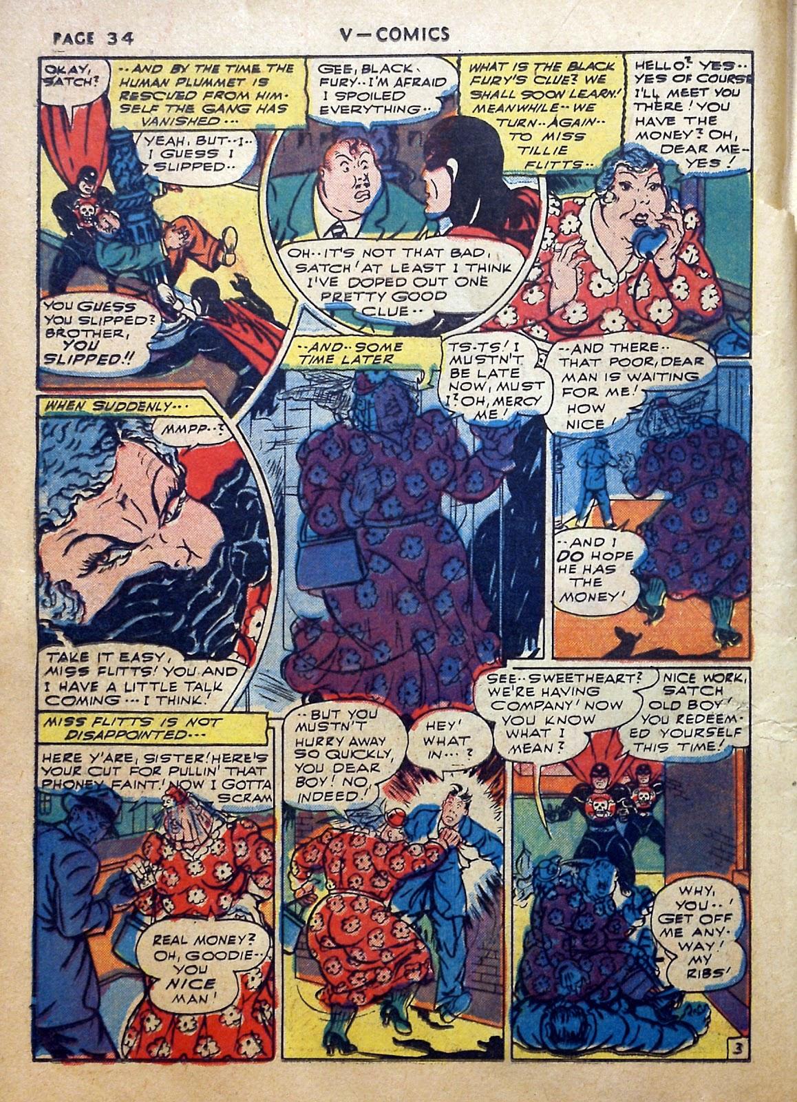 Read online V...- Comics comic -  Issue #2 - 35