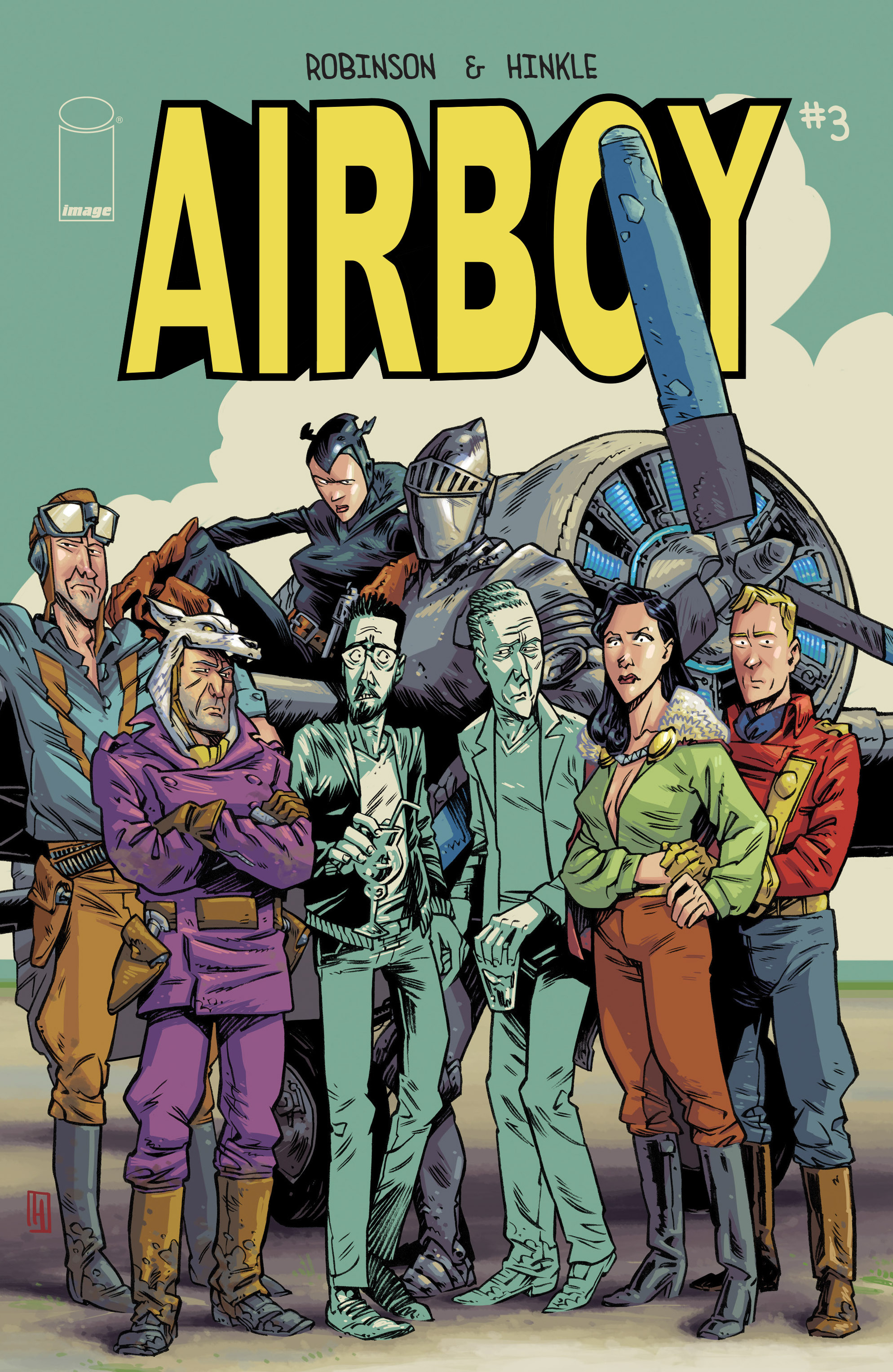 Read online Airboy comic -  Issue #3 - 1