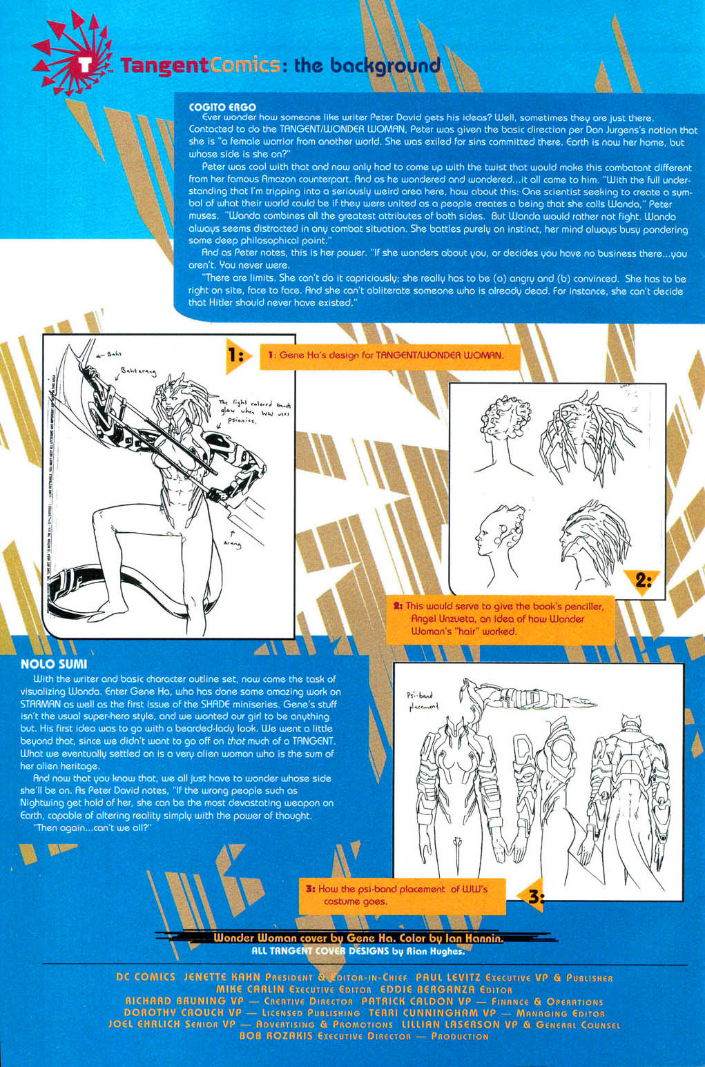 Read online Tangent Comics/ Wonder Woman comic -  Issue # Full - 24